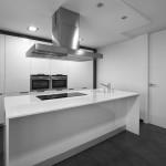 Isla de trabajo en cocina