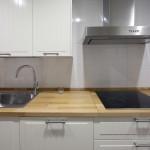 cocina encimera madera