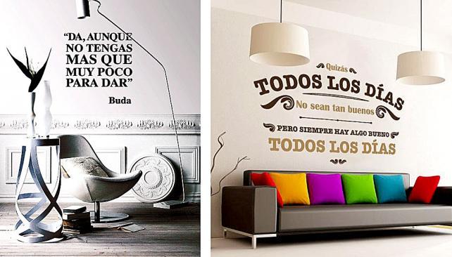 Priburgos decoraci n con mensajes positivos o motivadores - Frases para paredes habitaciones ...