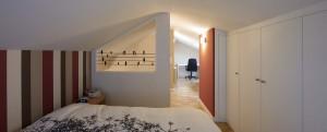 Se convierte el ático de un vivienda en un espacioso dormitorio
